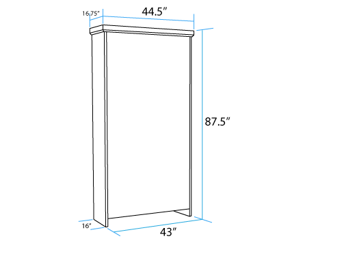 Vertical-Twin-Long-Murphy-Bed-Closed-Dimensions