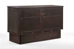 Clover Murphy Cabinet Dark Chocolate Fully Assembled (1)