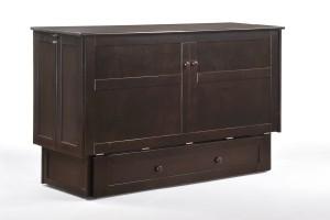 Clover Murphy Cabinet Dark Chocolate Fully Assembled (1)